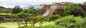 ¡Viva Mexico! Panoramic Collection - Pyramid of Monte Alban by Philippe Hugonnard
