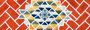 ¡Viva Mexico! Panoramic Collection - Red Mosaics by Philippe Hugonnard
