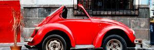 ¡Viva Mexico! Panoramic Collection - Small VW Beetle Car by Philippe Hugonnard