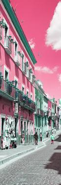 ¡Viva Mexico! Panoramic Collection - Street Colors Guanajuato III by Philippe Hugonnard