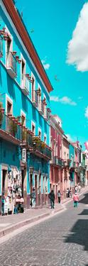 ¡Viva Mexico! Panoramic Collection - Street Colors Guanajuato IV by Philippe Hugonnard