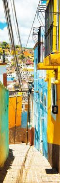 ¡Viva Mexico! Panoramic Collection - Street Scene Guanajuato IV by Philippe Hugonnard
