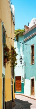 ¡Viva Mexico! Panoramic Collection - Street Scene Guanajuato VI by Philippe Hugonnard