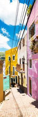 ¡Viva Mexico! Panoramic Collection - Street Scene Guanajuato by Philippe Hugonnard