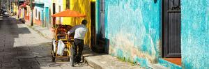 ¡Viva Mexico! Panoramic Collection - Street Vendor in San Cristobal by Philippe Hugonnard