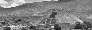 ¡Viva Mexico! Panoramic Collection - Teotihuacan Pyramid of the Sun I by Philippe Hugonnard