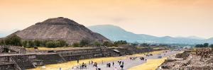 ¡Viva Mexico! Panoramic Collection - Teotihuacan Pyramid by Philippe Hugonnard