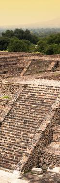 ¡Viva Mexico! Panoramic Collection - Teotihuacan Pyramids of the Sun III by Philippe Hugonnard