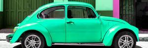 ¡¡Viva Mexico! Panoramic Collection - The Green Beetle Car by Philippe Hugonnard