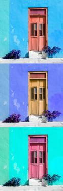 ¡Viva Mexico! Panoramic Collection - Tree Colorful Doors XIII by Philippe Hugonnard