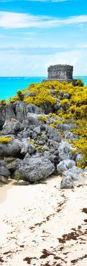 ¡Viva Mexico! Panoramic Collection - Tulum Ruins along Caribbean Coastline III by Philippe Hugonnard
