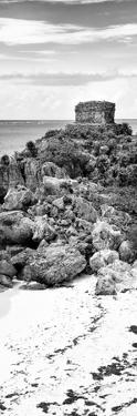 ¡Viva Mexico! Panoramic Collection - Tulum Ruins along Caribbean Coastline IV by Philippe Hugonnard