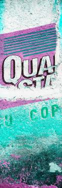 ¡Viva Mexico! Panoramic Collection - Turquoise Grunge Wall by Philippe Hugonnard
