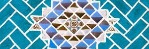 ¡Viva Mexico! Panoramic Collection - Turquoise Mosaics by Philippe Hugonnard