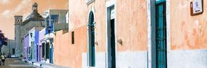 ¡Viva Mexico! Panoramic Collection - Urban Scene Campeche III by Philippe Hugonnard