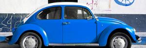 ¡Viva Mexico! Panoramic Collection - VW Beetle Blue by Philippe Hugonnard