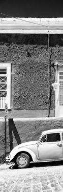 ¡Viva Mexico! Panoramic Collection - VW Beetle Car B&W by Philippe Hugonnard
