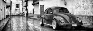 ?Viva Mexico! Panoramic Collection - VW Beetle Car in San Cristobal de Las Casas by Philippe Hugonnard