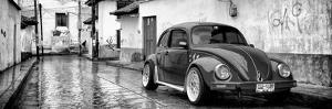 ¡Viva Mexico! Panoramic Collection - VW Beetle Car in San Cristobal de Las Casas by Philippe Hugonnard