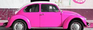¡Viva Mexico! Panoramic Collection - VW Beetle Deep Pink by Philippe Hugonnard
