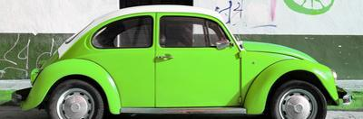 ¡Viva Mexico! Panoramic Collection - VW Beetle Green by Philippe Hugonnard