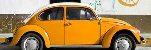 ¡Viva Mexico! Panoramic Collection - VW Beetle Orange by Philippe Hugonnard