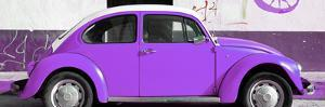 ¡Viva Mexico! Panoramic Collection - VW Beetle Purple by Philippe Hugonnard