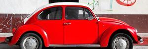¡Viva Mexico! Panoramic Collection - VW Beetle Red by Philippe Hugonnard