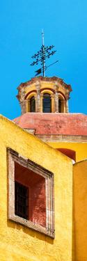 ¡Viva Mexico! Panoramic Collection - Yellow Church Facade by Philippe Hugonnard