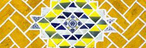 ¡Viva Mexico! Panoramic Collection - Yellow Mosaics by Philippe Hugonnard