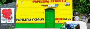 ¡Viva Mexico! Panoramic Collection - Yellow Papeleria Estrella by Philippe Hugonnard