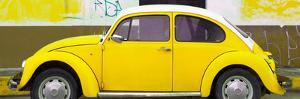 ¡Viva Mexico! Panoramic Collection - Yellow VW Beetle by Philippe Hugonnard