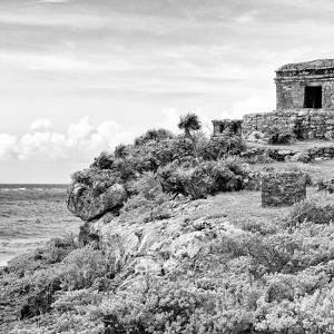 ¡Viva Mexico! Square Collection - Ancient Mayan Fortress in Riviera Maya II - Tulum by Philippe Hugonnard