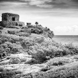 ¡Viva Mexico! Square Collection - Ancient Mayan Fortress in Riviera Maya V - Tulum by Philippe Hugonnard