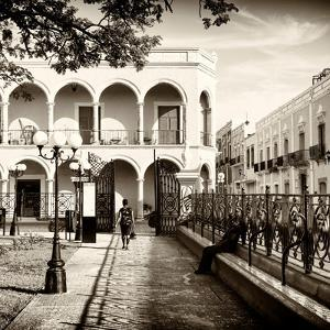 ¡Viva Mexico! Square Collection - Architecture Campeche II by Philippe Hugonnard