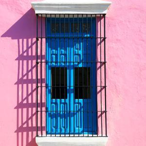 ¡Viva Mexico! Square Collection - Blue Window in Campeche by Philippe Hugonnard