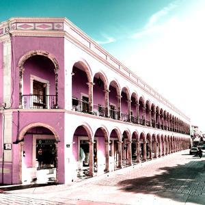 ¡Viva Mexico! Square Collection - Campeche Architecture II by Philippe Hugonnard