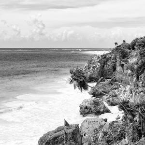 ¡Viva Mexico! Square Collection - Caribbean Coastline in Tulum V by Philippe Hugonnard