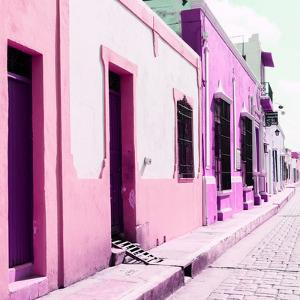 ¡Viva Mexico! Square Collection - Coloful Street II by Philippe Hugonnard