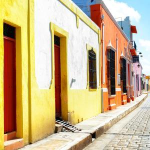 ¡Viva Mexico! Square Collection - Coloful Street by Philippe Hugonnard