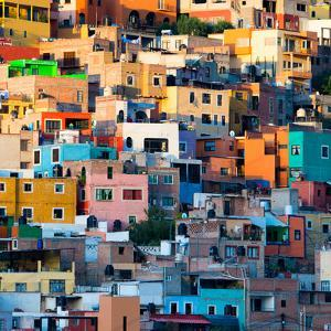 ¡Viva Mexico! Square Collection - Guanajuato at Sunset II by Philippe Hugonnard