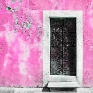 ¡Viva Mexico! Square Collection - Hot Pink Wall of Silence by Philippe Hugonnard