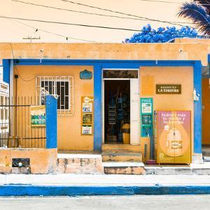 """¡Viva Mexico! Square Collection - """"La Esquina"""" Orange Supermarket - Cancun by Philippe Hugonnard"""