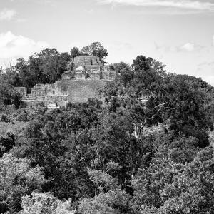 ¡Viva Mexico! Square Collection - Mayan Pyramid of Calakmul VI by Philippe Hugonnard