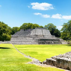 ¡Viva Mexico! Square Collection - Mayan Ruins in Edzna by Philippe Hugonnard