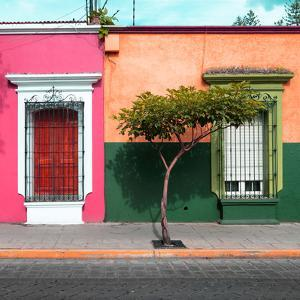 ¡Viva Mexico! Square Collection - Mexican Colorful Facades III by Philippe Hugonnard