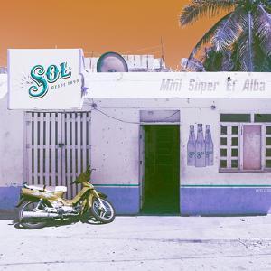 ¡Viva Mexico! Square Collection - Mini Supermarket Vintage VI by Philippe Hugonnard