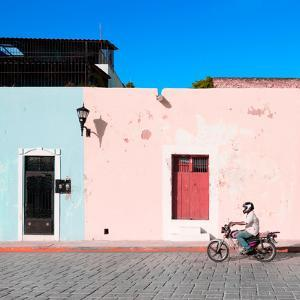 ¡Viva Mexico! Square Collection - Motorbike Ride in Campeche II by Philippe Hugonnard