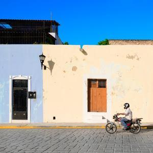 ¡Viva Mexico! Square Collection - Motorbike Ride in Campeche by Philippe Hugonnard