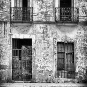 ¡Viva Mexico! Square Collection - Old Facade II by Philippe Hugonnard
